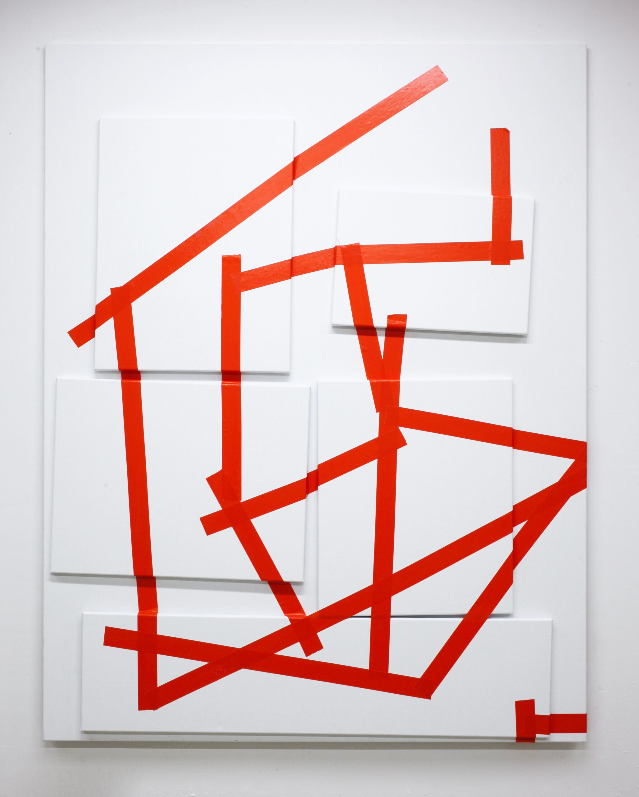 Taped Paintings